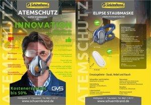 Staubmaske ELIPSE, Schürnbrand-Flyer
